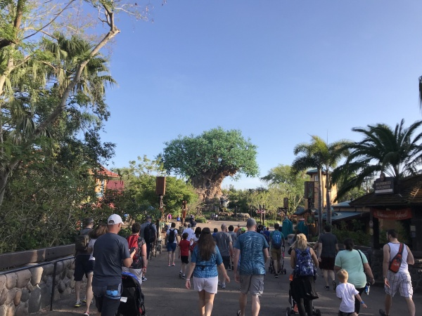 Pandora is over the bridge to the left