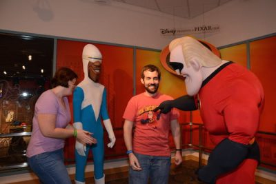 Incredibles Animation Meet and Greet