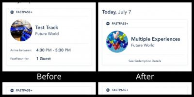 Closed Attraction FastPass+
