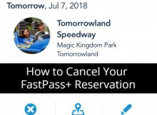 How to Cancel Your FastPass+ Reservation
