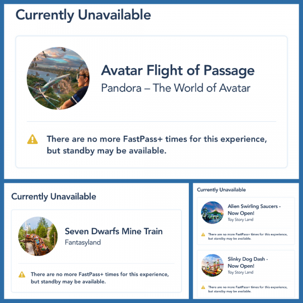 Hard to get FastPasses are still hard to get