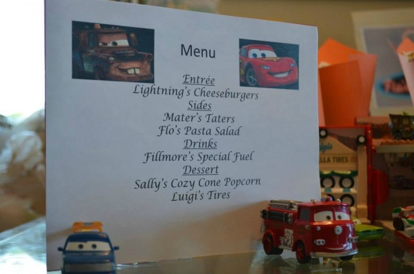 Disney Movie Nights Cars