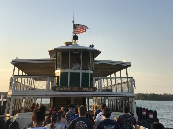 The Admiral Joe Fowler Ferry Boat