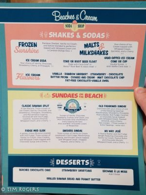 Beaches and Cream Desserts