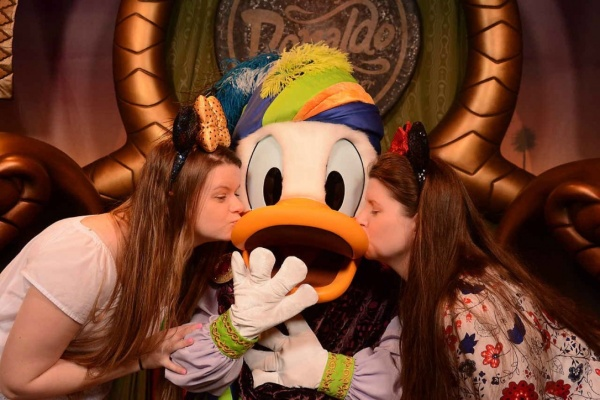 Meeting Donald Duck