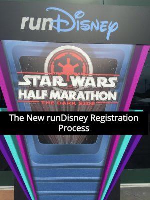 The New runDisney Registration Process