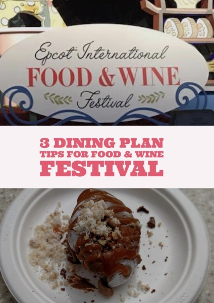 3 dining plan tips for the epcot food and wine festival forumfinder Image collections