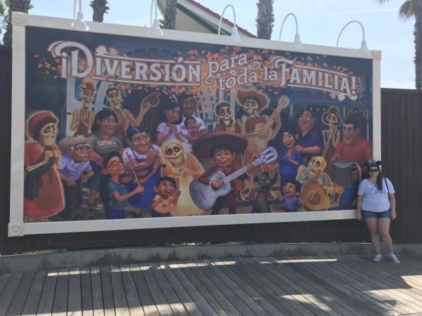 Coco billboard