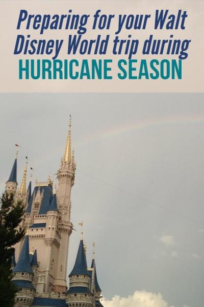 Traveling to Walt Disney World during hurricane season