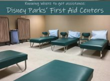 Disney Parks' First Aid Centers