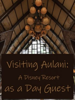 Aulani as a day guest