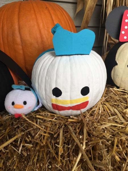 Donald Tsum Tsum pumpkin
