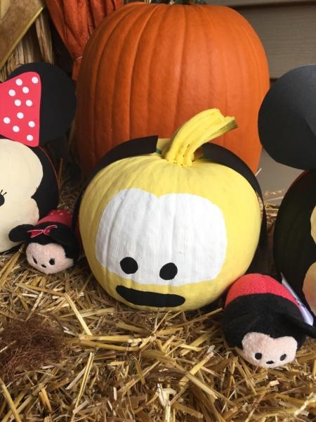 Pluto Tsum Tsum pumpkin