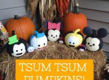 Tsum Tsum pumpkins main 2