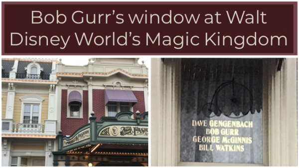 Main Street Window and Walt Disney World