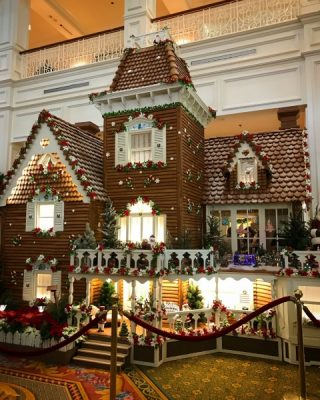 Christmas at Walt Disney World Gingerbread