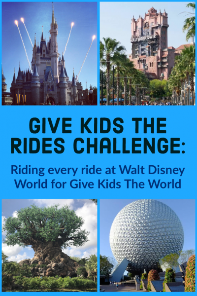 Riding every ride at Walt Disney World