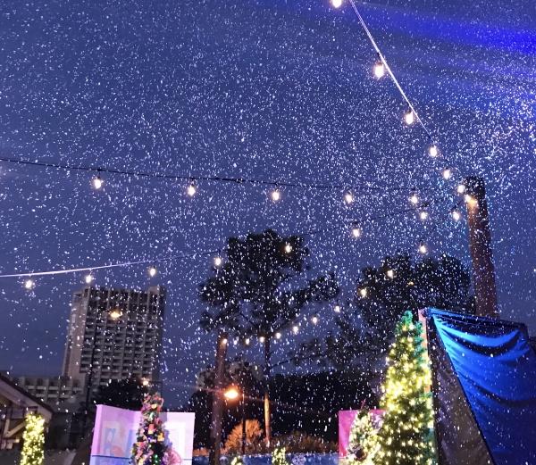 Snow at Disney Springs