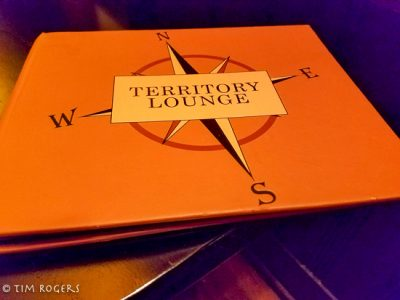 Territory Lounge Menu Cover