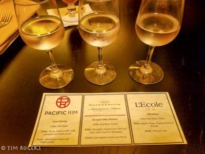 Territory Lounge Wine Flight