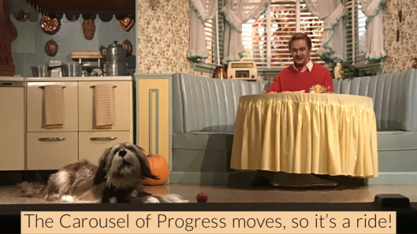 Walt Disney's Carousel of Progress during Give Kids The Rides