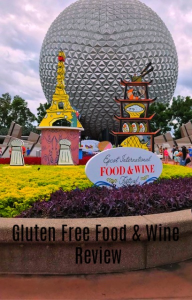 Gluten Free Food & Wine Review
