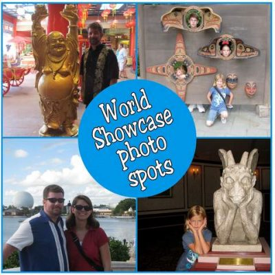 World Showcase photo spots