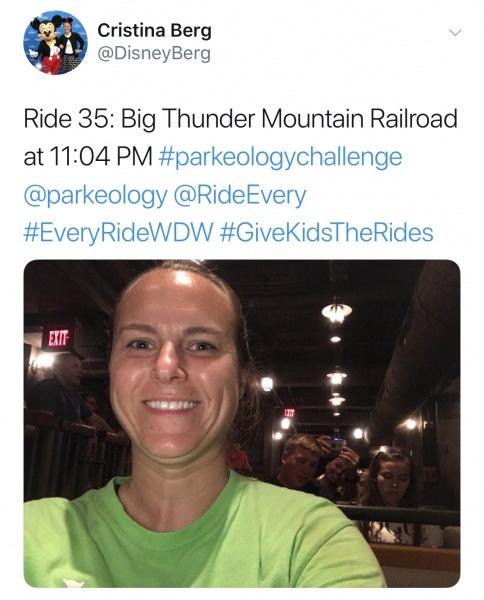 Big Thunder Mountain Railroad ride #35