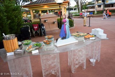 Frozen Ever After Dessert Party