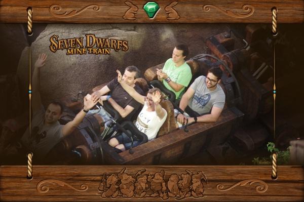 Seven Dwarfs Mine Train during Give Kids the Rides