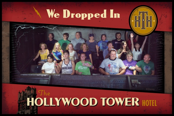 PhotoPass on Tower of Terror during the Give Kids the Rides Challenge