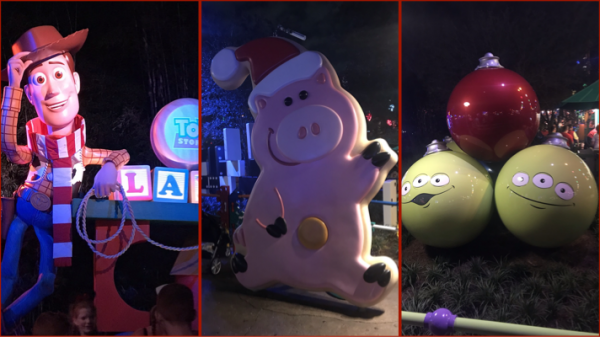 Christmas in Toy Story Land