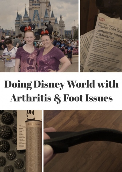 Doing Disney World with Arthritis and Other Foot Issues