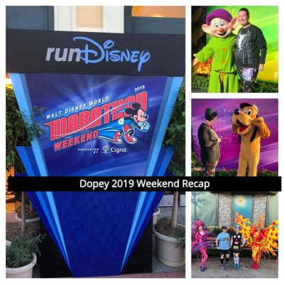 Dopey 2019 Weekend Recap