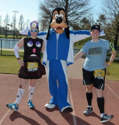 Goofy on the Track