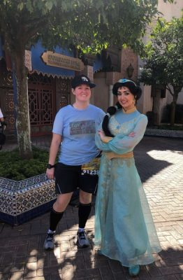 Jasmine in EPCOT picture