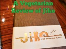 Jiko Vegetarian Review