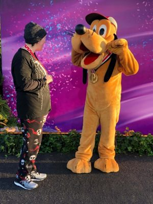 Pluto 10k Medal Picture