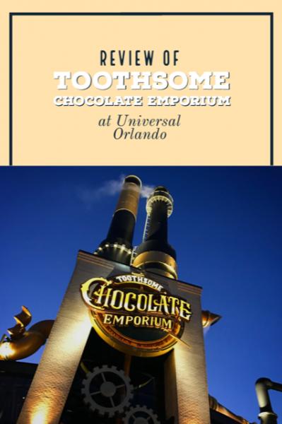 Toothsome Chocolate Emporium Citywalk At Universal Orlando
