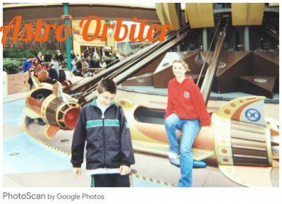 Astro Orbiter: Disneyland Throwback Thursday