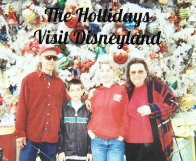 The Hollidays Visit Disneyland: Throwback Thursday