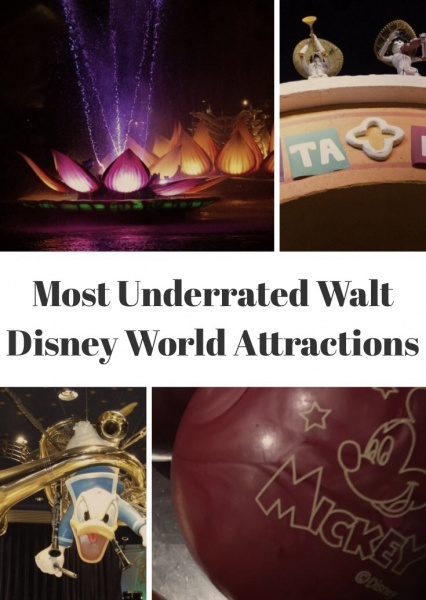 Most Underrated Attractions at Walt Disney World