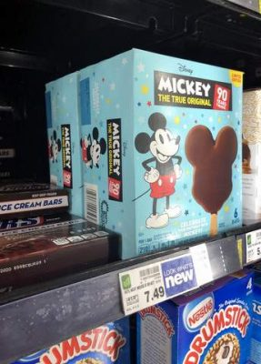 Finding Mickey bars