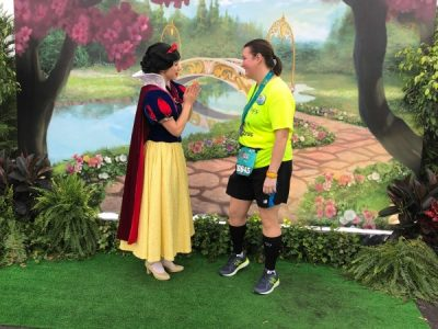 Snow White Post Race