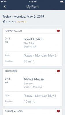 DCL app plans page