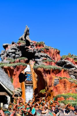 Summer Heat at Walt Disney World Splash Mountain