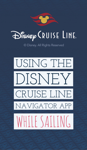 DCL app on the ship