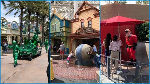 Pixar Pier at California Adventure