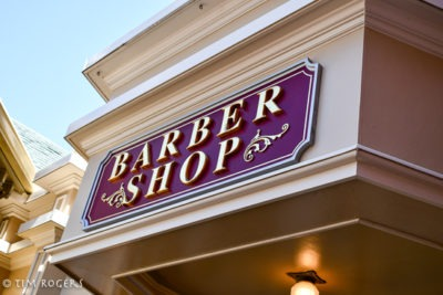 Harmony Barber Shop sign