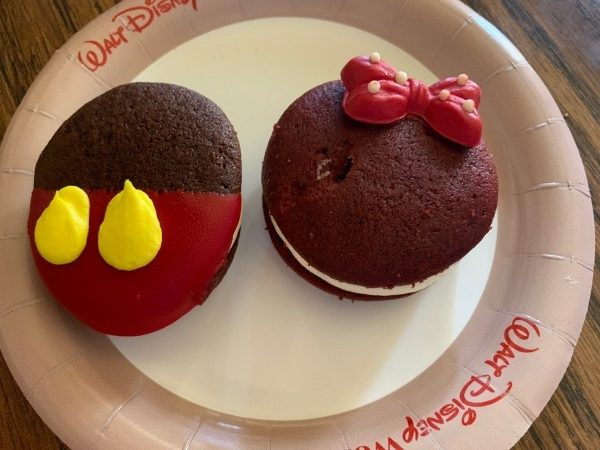 Mickey and Minnie Whoopie Pies